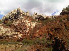 El cerro del Hierro, en San Nicolás del Puerto, Sierra Morena.