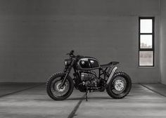 austrian workshop vagabund explores classic building approaches with custom BMW R100R