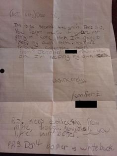 A Letter to the Tooth Fairy - Neatorama