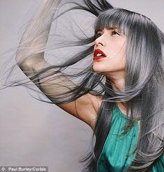 A-mazing gray / grey hair