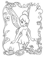 Coloring Pages Tinkerbell And Friends Recipes To Cook Pinterest
