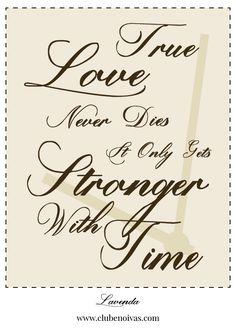 Quadros com Frases de Amor - Ilustrações - Clube Noivas - True Love