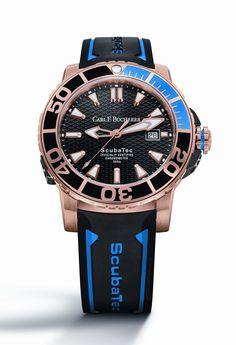 reloj buceo Patravi ScubaTec en oro rosa de CARL F. BUCHERER