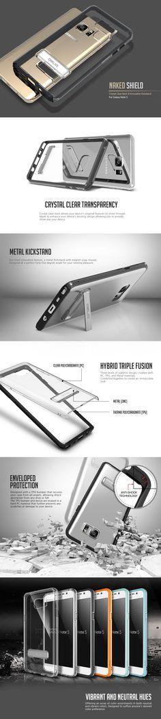 OBLIQ Obliq Galaxy Note 5 Case Naked Shield Series