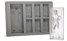 Han Solo Frozen in Carbonite and  Ice Cube Tray