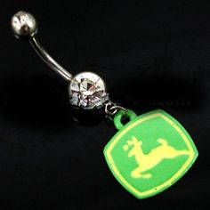 John Deere Belly ring