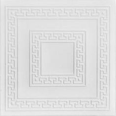 A La Maison Ceilings Bead Board 1.6 ft. x 1.6 ft. Glue-Up or Direct Mount Ceiling Tile in White & Reviews | Wayfair