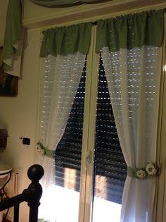 Cucire Tende A Vetro.7 Fantastiche Immagini Su Tende A Vetro Blinds Curtains E Drapes