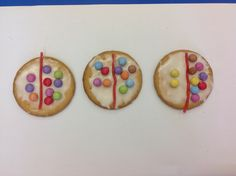 ... before making a Number Bond Biscuit .... as part of our school's Chocolate Week! LH