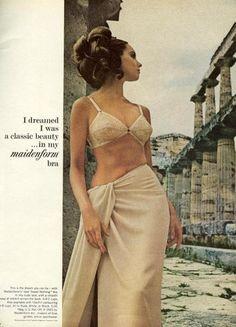 maidenform lingerie ads | Vintage Maidenform 'I dreamed I was' ads - Found in Mom's Basement