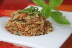 Parmesan Basil Orzo Recipe - Recipezazz.com