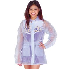Stay warm, dry and spirited with a clear hooded rain jacket to go over your cheer uniform. Get this cheerleading rain jacket so nothing can stop your spirit. Cheerleading Accessories, Jazz Costumes, Nfl Cheerleaders, Cheer Bows, Stay Warm, Adidas Jacket, Healthy Lifestyle, Hooded Jacket, Rain Jacket