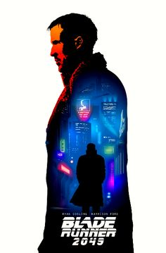 Blade Runner 2049 Movie Poster Art, New Poster, Fiction Movies, Science Fiction, Denis Villeneuve, Film Theory, Blade Runner 2049, Cinema Film, Alternative Movie Posters