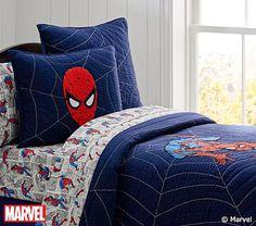 Spider-Man™ Quilt #pbkids |159|. Euro Sham |34|. Standard Sham |31|