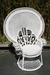 Cane Chairs New Zealand Lift Chair Medicare 159 Best Furniture Images Wicker White King Peacock For Sale On Trade Me S Auction And Classifieds Website
