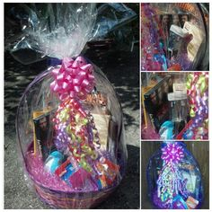A caboodle used as a easter basket filled with makeup for my tween home made easter basket i made for my teen 3 negle Images