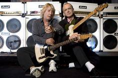 Rick Parfitt and Francis Rossi of Status Quo