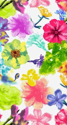 Find floral watercolor stock images in HD and millions of other royalty-free stock photos, illustrations and vectors in the Shutterstock collection. Flowery Wallpaper, Mobile Wallpaper, Pattern Wallpaper, Wallpaper Backgrounds, Print Wallpaper, Cellphone Wallpaper, Iphone Wallpaper, Watercolor Flowers, Cute Wallpapers