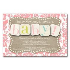 Baby shower invite!