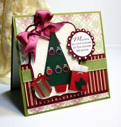 Christmas Card  Handmade Greeting Card  May the by CardInspired