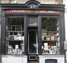 Posada Art Books in Brussels (sadly now closed).