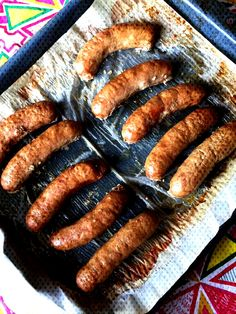 This delicious oven baked Italian sausage is the easiest dinner ever! You'll always want to have some Italian sausages in the freezer for a busy weeknight! This oven baked Italian sausage recipe i Cook Sausage In Oven, Italian Sausage In Oven, Roasted Italian Sausage, Italian Sausage Sandwich, Sausages In The Oven, Italian Sausage Recipes, Italian Sausages, Bratwurst In The Oven, How To Bake Sausage