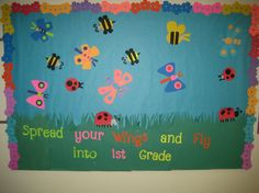 "Cute butterflies and bees. I can totally make those with my Cricut ""Walk in my Garden"" cartridge!"