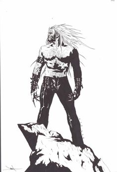 Sabertooth by Jae Lee - Rise of the Immortals concept art Comic Book Artists, Comic Book Characters, Comic Artist, Marvel Characters, Comic Books Art, Superhero Villains, Marvel Villains, Marvel Vs, Marvel Comics