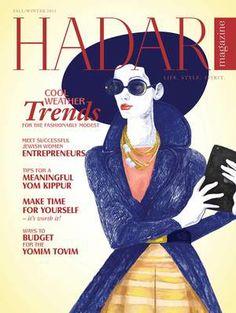 Hadar Magazine: Fashion with a Modest Twist for Orthodox Jewish Women