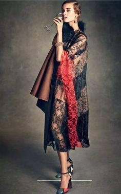 Vogue Japan January 2015 | Jac Jagaciak by Andreas Sjödin