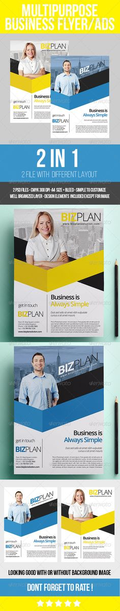 Advertising Brochure Template Promotional Flyer  Pinterest  Promotional Flyers Color Shapes And .