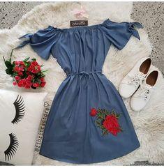 modamidi Divino né meninas ❤vocês encontram na Trendy Dresses, Cute Dresses, Casual Dresses, Short Dresses, Fashion Dresses, Classy Outfits, Chic Outfits, Summer Outfits, Mode Outfits