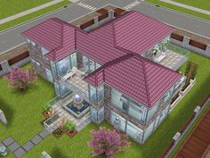 House 64 full view #sims #simsfreeplay #simshousedesign