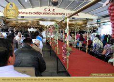 Miercoles 13 de Agosto 2014 - Oración de 8:30 A.M. en la Colonia Coyula. #SantaConvocacion2014 #lldm #ccbusa #lldmusa