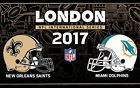 #lastminute  NFL Tickets London Miami Dolphins vs. New Orleans Saints 2017 01.10. 2 Tickets #deutschland