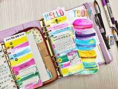 Happiness is Scrappy: How To Make Page Marker for Your Planner