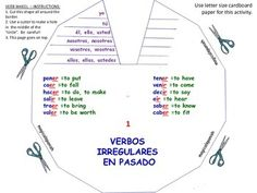 Dial a verb, verb wheel template French Vocab Websites