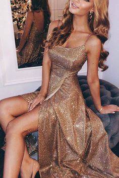 Sparkling Sling With A Slit Dress ?Name Sparkling sling with a slit dress Brand Corebeau SKU EV A Line Prom Dresses, Ball Dresses, Homecoming Dresses, Wedding Dresses, Dresses Dresses, Sparkly Prom Dresses, Spring Dresses, Casual Dresses, Holiday Dresses