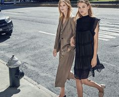 'City Vibes' Lexi Boling & Roos Abels for MANGO Fall 2016 Campaign