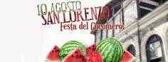 10 agosto. Gli operatori del #MercatoCentraleFirenze sostengono la tradizionale festa popolare della cocomerata in piazza San Lorenzo! venite ad assaggiare!!