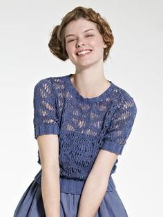 Rowan lace knit