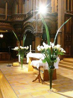 wedding flowers church callas | Flickr: partage de photos!