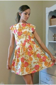 Tablecloth Party Dress