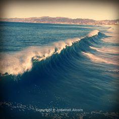 Big surf in Venice