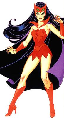 Catra. Villain from She-Ra- very stylish, wasn't she?