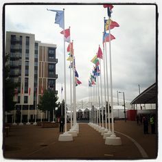 tomliseq's photo of London 2012 Olympic and Paralympic Village on Instagram