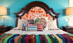 Bohemian, Boho, Indie Eclectic Interior Design Spaces - Bedroom   Live Love in the Home