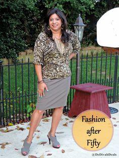 Fashion after Fifty #ootd #dressforless Transitioning to Autumn #fallattire #DelawareBlogger @dedivahdeals