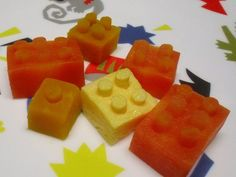 vegetable LEGO bricks