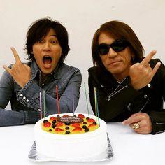 Happy Birthday Koshi!! #Bz #Inaba